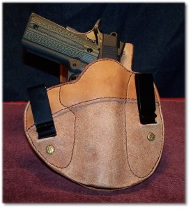 "Tucked n' Tite in a ""Cumberland"" IWB Holster from Simply Rugger Holsters"