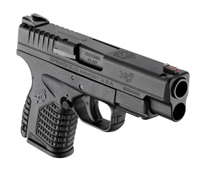 Springfield XDs 4.0 45 - Five rounds in the Standard Magazine