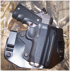 Modified Black Arch Holsters ACE-1 Gen 2 Holster - Excellent for IWB Carry