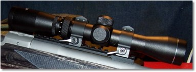 AIM 2-7x32 Illuminated Reticle Scope w/Warne Low-mount, Quick-Detachable Scope Rings