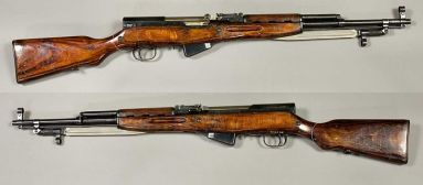 The SKS Carbine (Photo Courtesy of https://en.wikipedia.org/wiki/SKS)