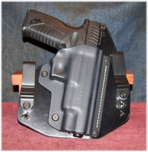 The Springfield XDM 5.25 in one of my favorite holsters - The Black Arch ACE-1 GEN2 - A full Coverage Holster - Note my added front cant