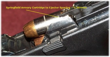 Springfield - Cartridge to Ejector Clearance