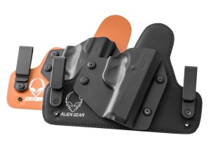 Examples of Alien Gear IWB Hybrid Holsters