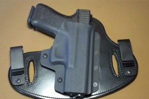 This Holster example can serve in IWB or OWB roles