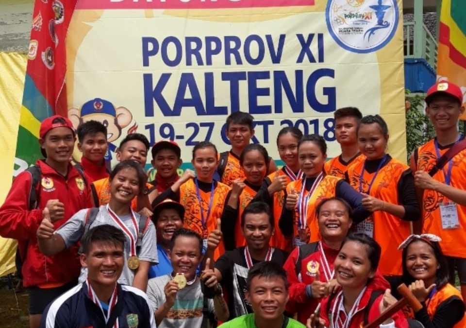 Kontingen Gunung Mas Kumpulkan 19 Medali Porprov Kalteng