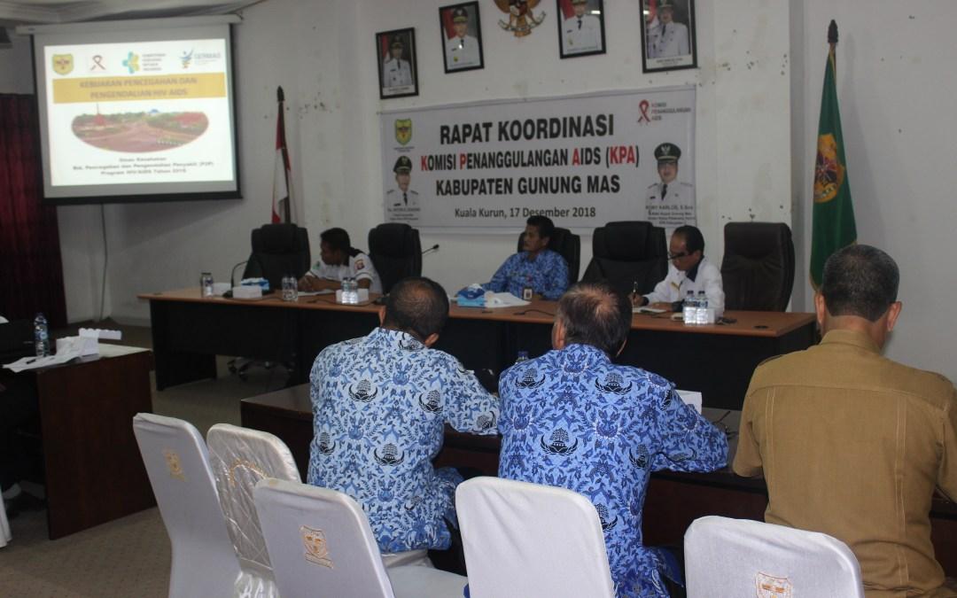 Rapat Koordinasi Pengurus KPA Dan Instansi Terkait