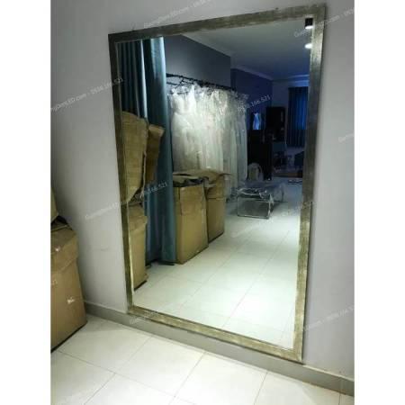 Gương Soi Toàn Thân Khung Gỗ Shop Thời Trang 2m