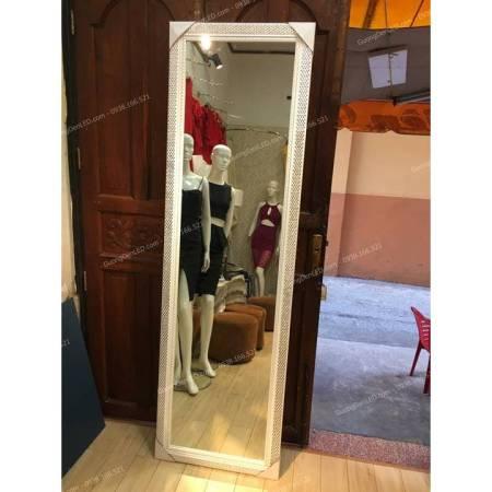 Gương Treo Phòng Khách Khung Gỗ