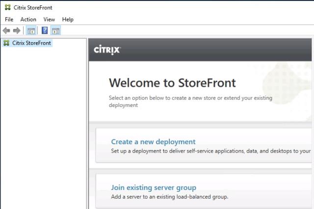 Citrix Storefront 1912 LTSR Installation and Configuration