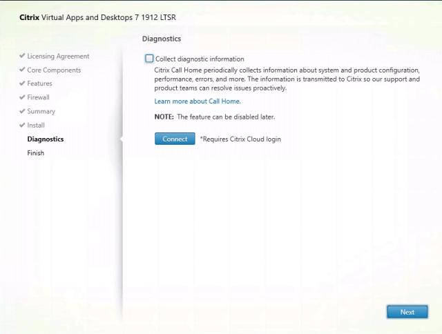Citrix Delivery Controller Installation Disagnostics