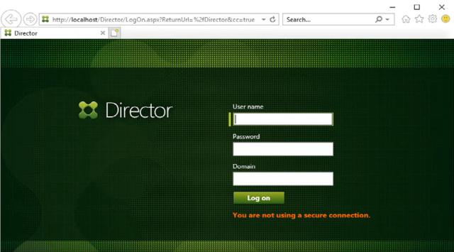Citrix Director 1912 LTSR home page