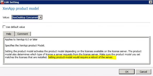 XenApp Product Model