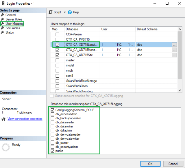Citrix Database Migration Process