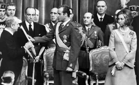 Juan Carlos, durante su proclamación como Rey. Foto: Casa  Real