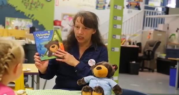 Khristiane Woods of Yukon Literacy Coalition Tells Children's Story