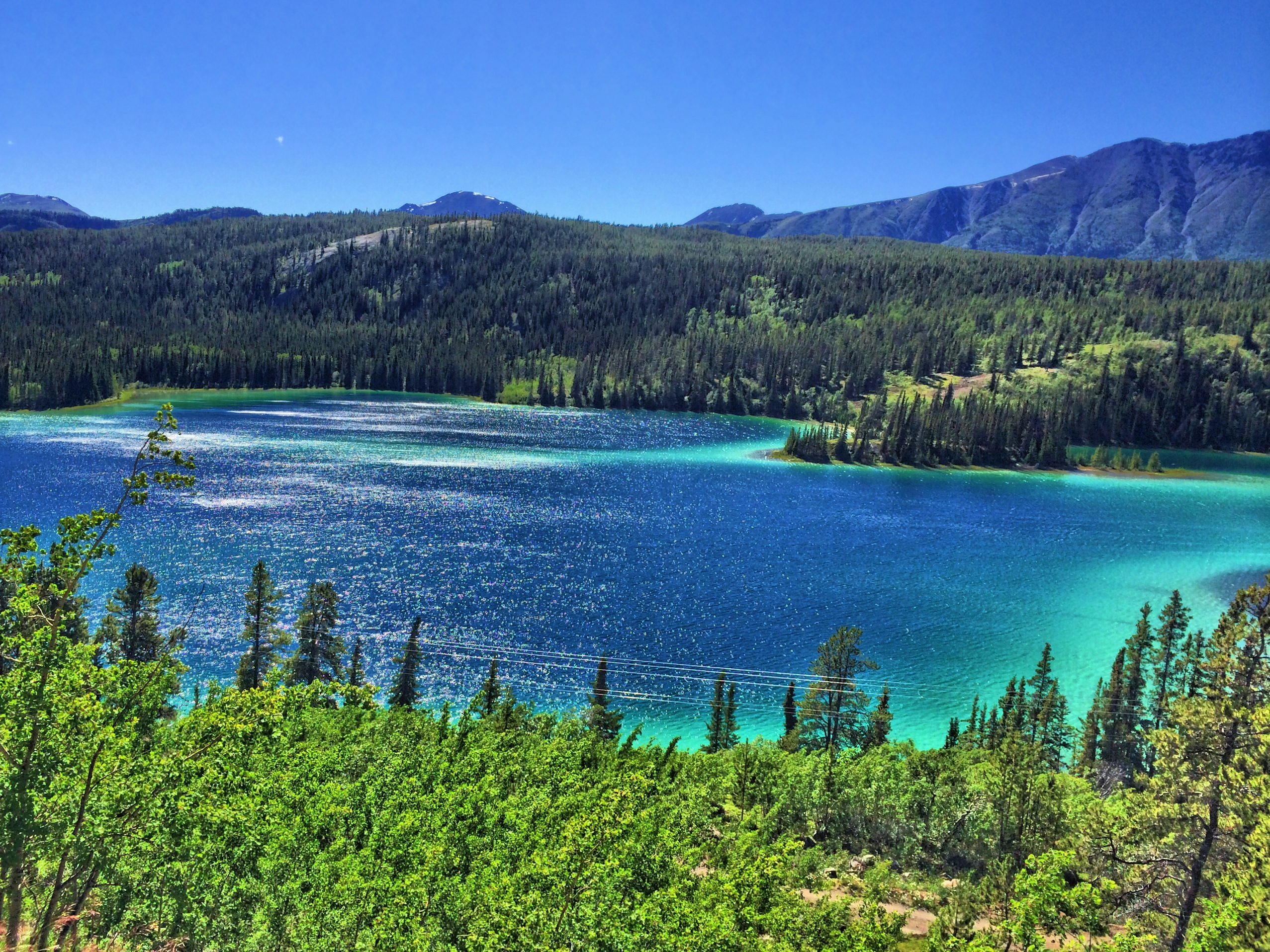 Emerald Lake, Carcross, Yukon. Photo: Gurdeep Pandher