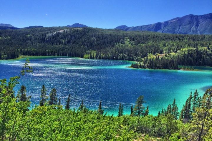 Emerald Lake, Carcross, Yukon. Photo: Gurdeep Pandher