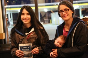 Ursula and Rachel Westfall with their newest book