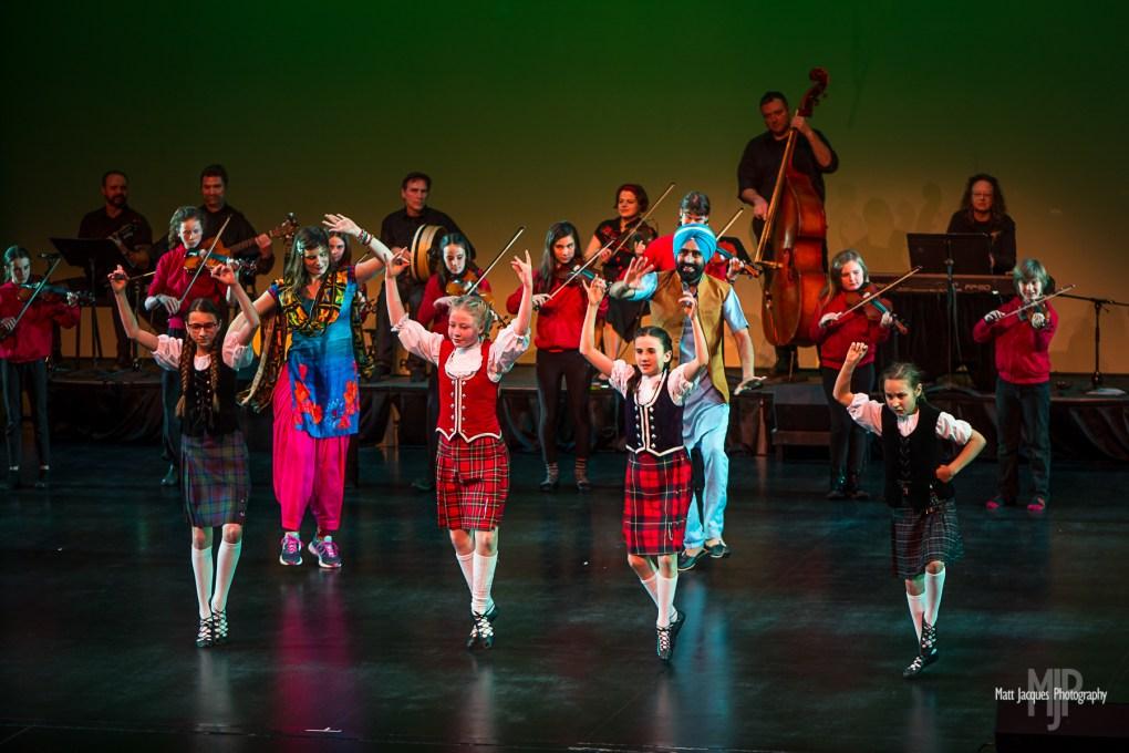 Bhangra- Dance of Punjab | Yukon Arts Centre | Photo by: Matt Jacques Photography