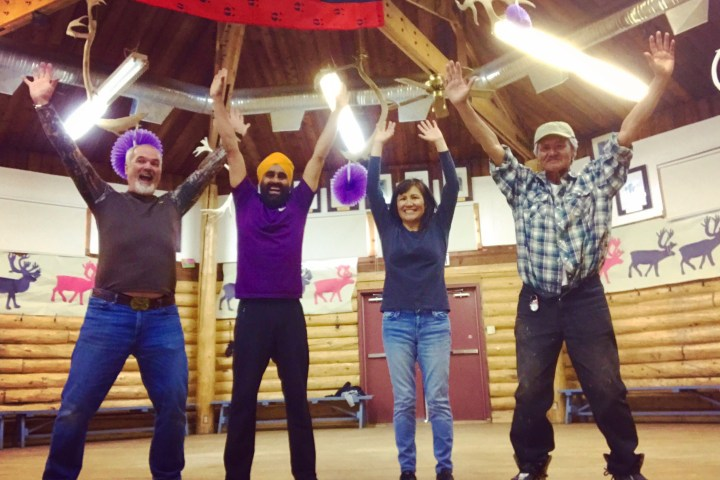 Bhangra in Old Crow, Yukon