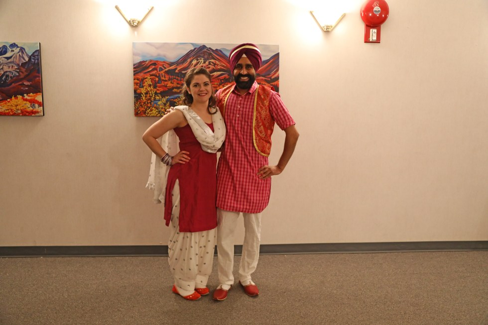 Krisandra Reid and Gurdeep Pandher | Photo by: Monique Chatterton