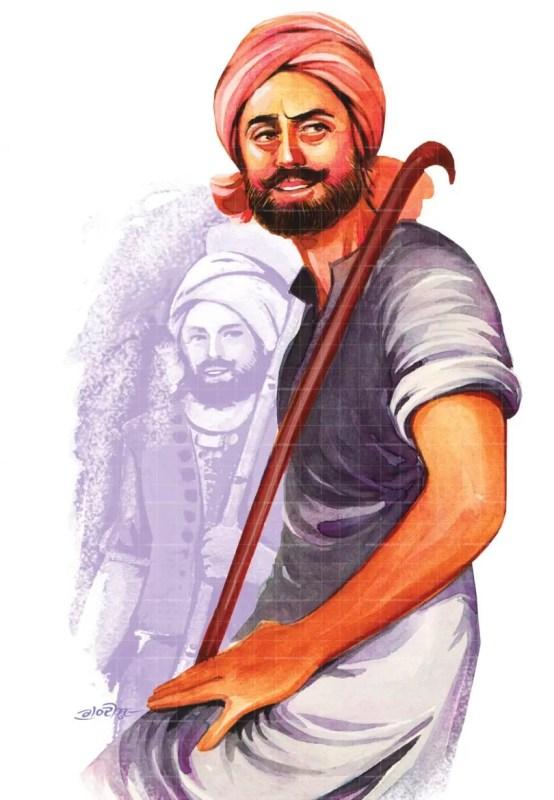Punjabi gabru painting