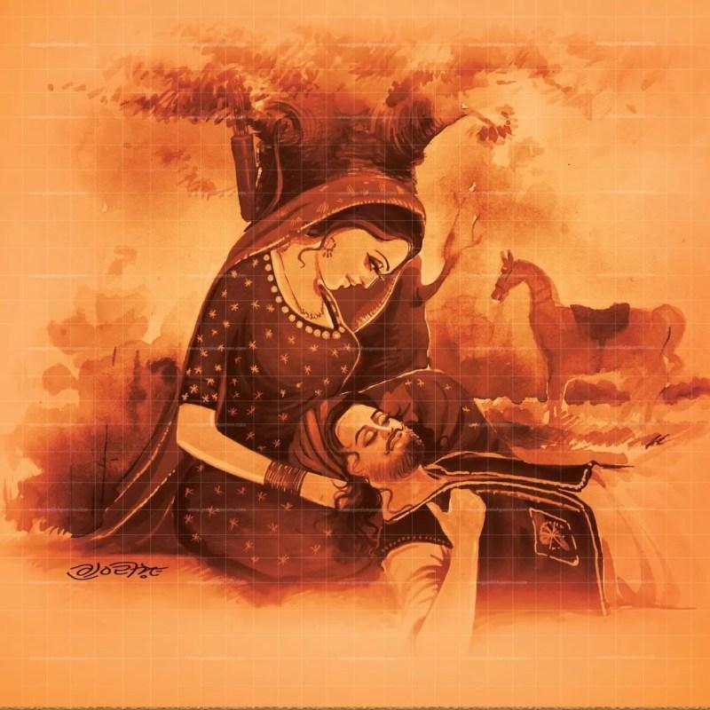 Mirza Sahiba Punjabi painting