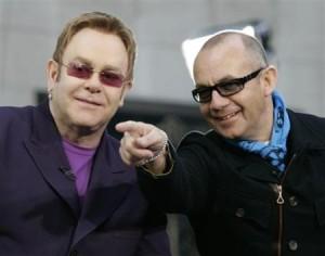 Elton and Bernie