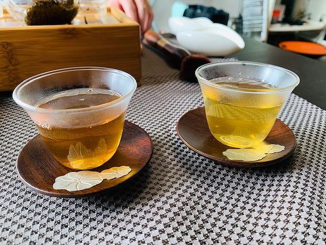 モッピーで高級茶飲んで6000Pゲット!