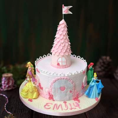 disney fairytale cake