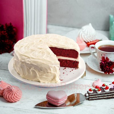 cream cheese velvet cake