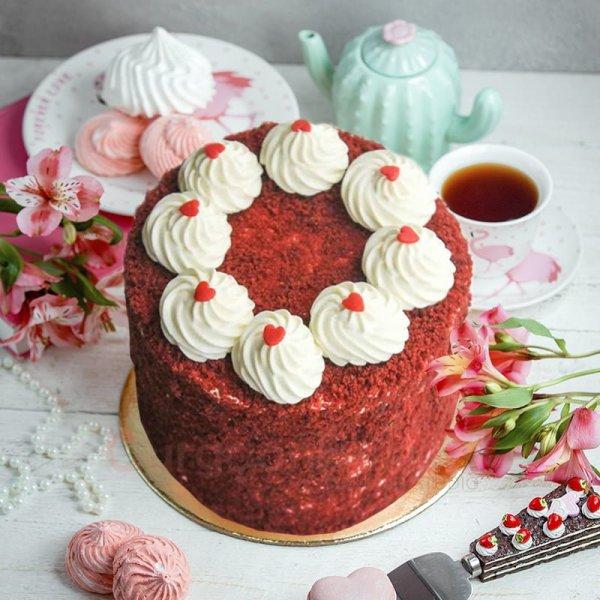 creamy velvety cake
