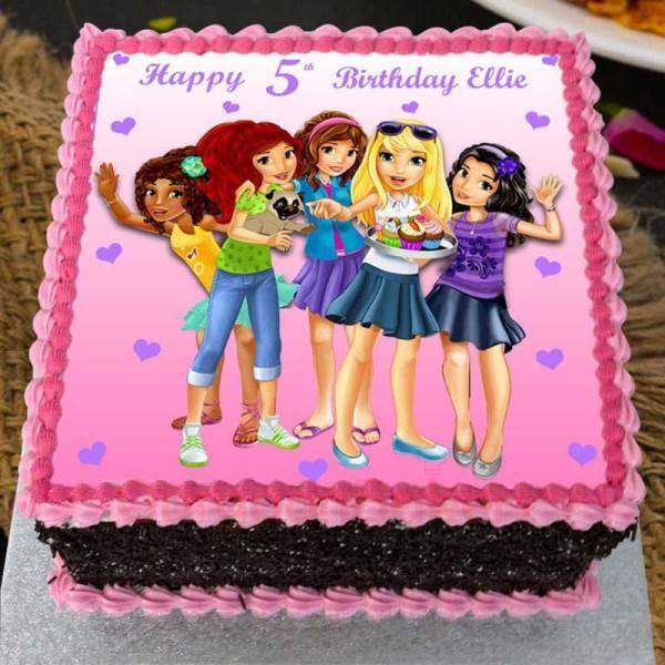 girl power cake