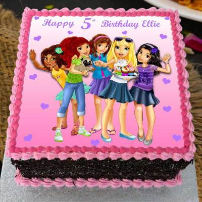 girl power cake