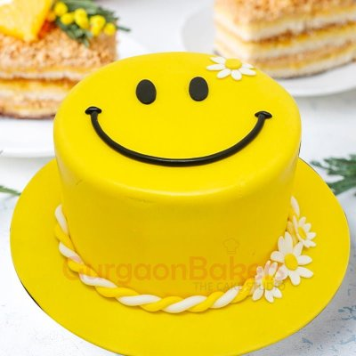 happiness is contagious cake
