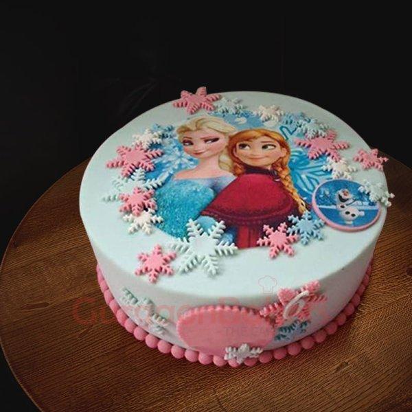 pinkalicious frozen cake