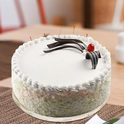 rich white forest cake