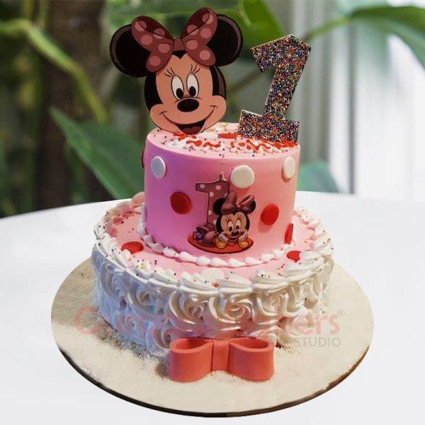 spectacular minnie cake