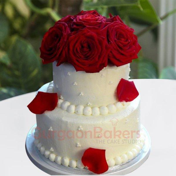 strawberry passion best wedding cake