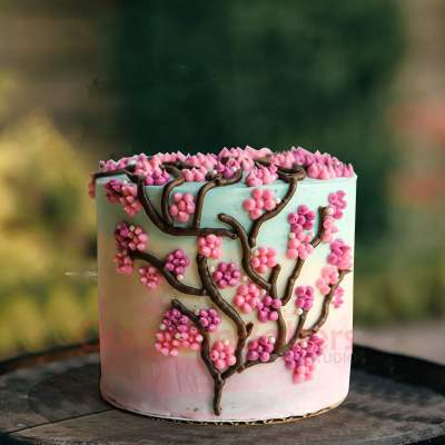 branch of tree cake