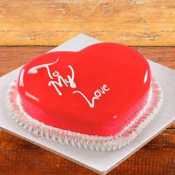 heart of hearts cake