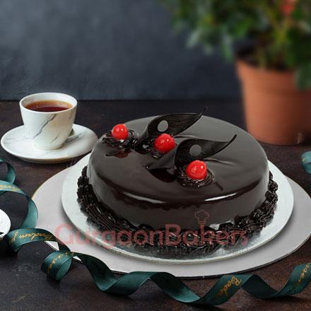 chocolate truffle cake1