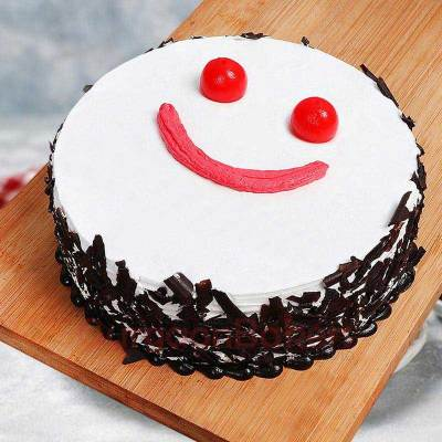 friendship day black forest cake