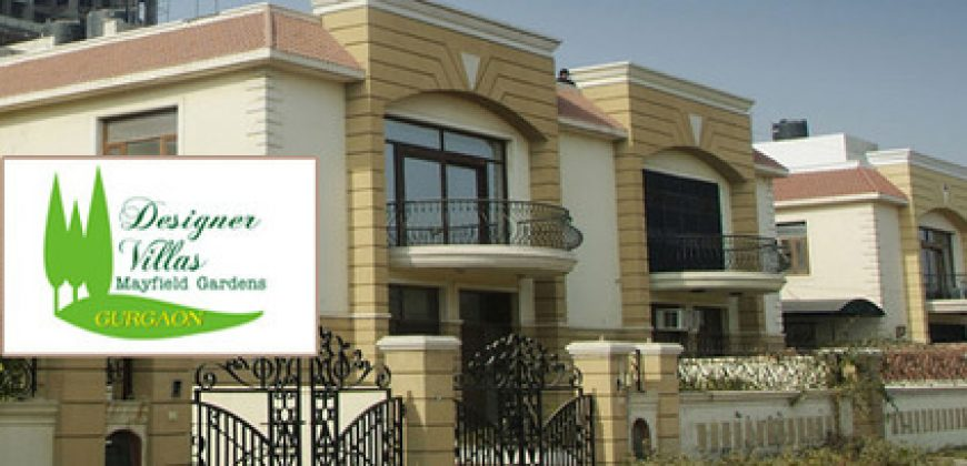 4 BED +SQ DESIGNER VILLA IN 300 YDS MAYFIELDS GARDEN GURGAON FOR SALE