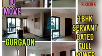 3 BHK INDEPENDENT FLOOR,WITH TERRACE, SECTOR-48, SOHNA ROAD, GURGAON