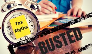 6 Tax Refund Myths