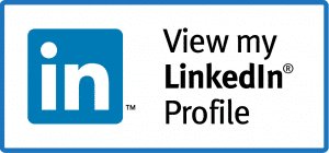 View my LinkedIn profile with LinkedIn icon