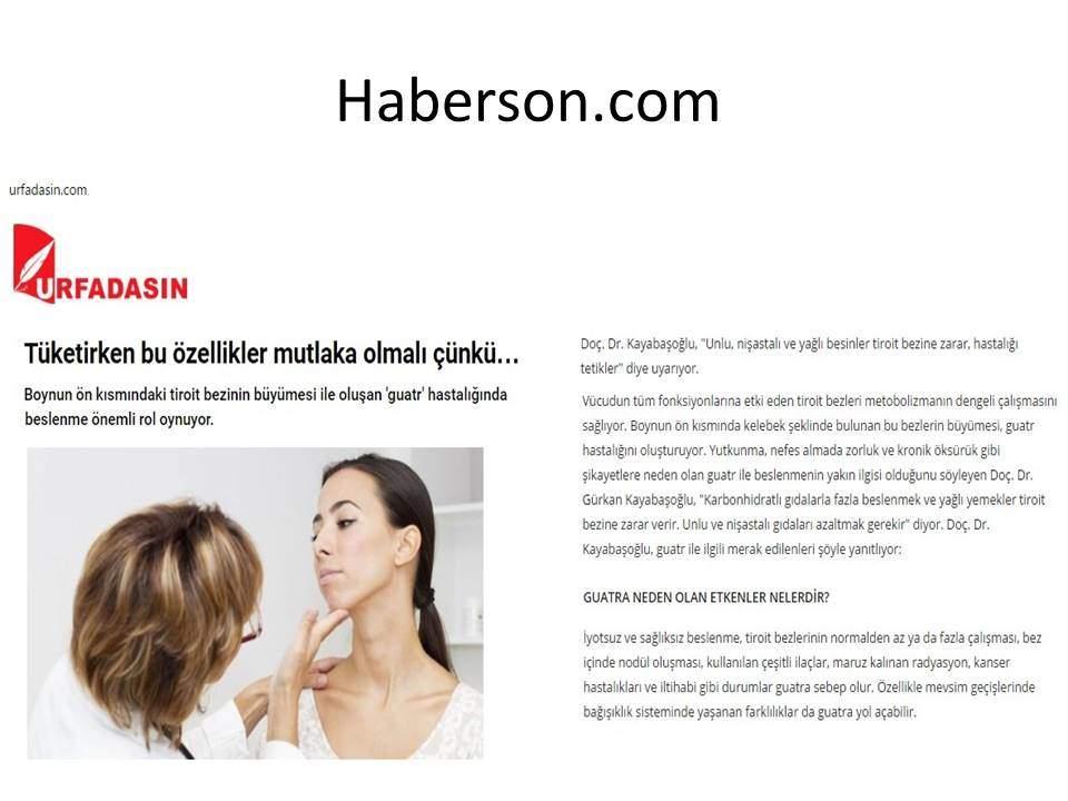 Haberson.com