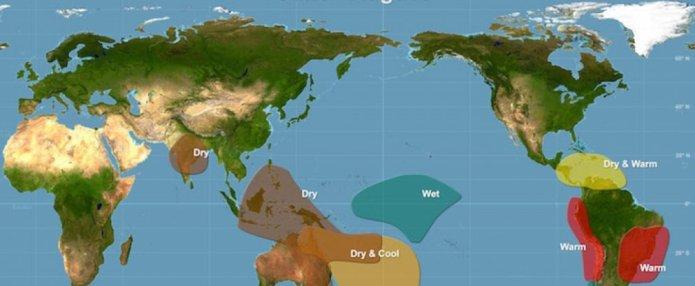 El Niño has finally arrived